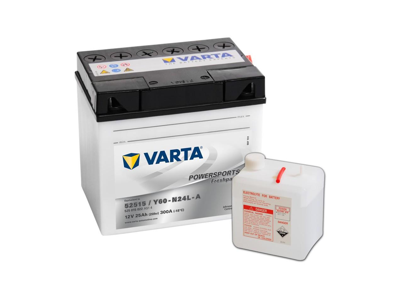 Aperçu du produit BATTERIE MOTO VARTA 12V 52515