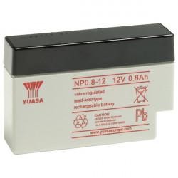 Aperçu du produit BATTERIE YUASA NP0.8-12