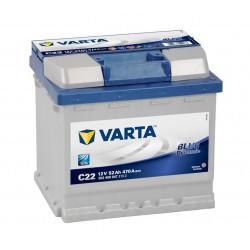 Autre photographie de BATTERIE VARTA BLUE DYNAMIC C22 12V 52AH 470A