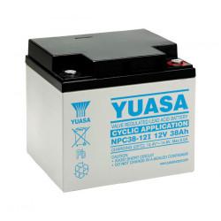 Aperçu du produit BATTERIE YUASA NPC38-12