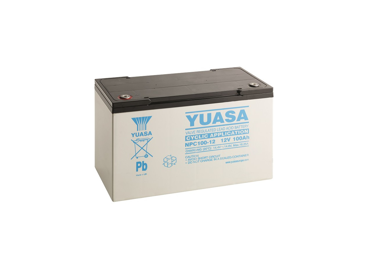 Aperçu du produit BATTERIE YUASA  NPC100-12