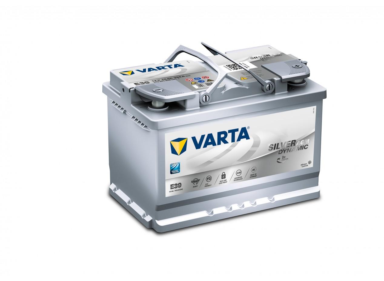 Aperçu du produit BATTERIE VARTA START STOP PLUS AGM E39 12V 70AH 760A