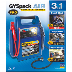 Autre photographie de BOOSTER GYSPACK AIR