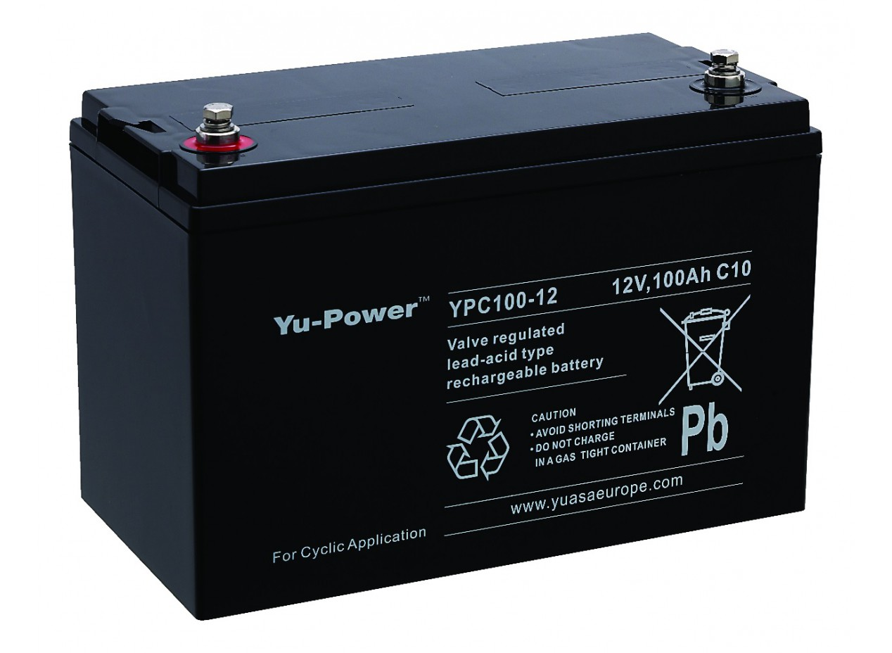 Aperçu du produit BATTERIE YUASA  YPC100-12