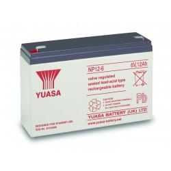 Aperçu du produit BATTERIE YUASA  NP12-6L
