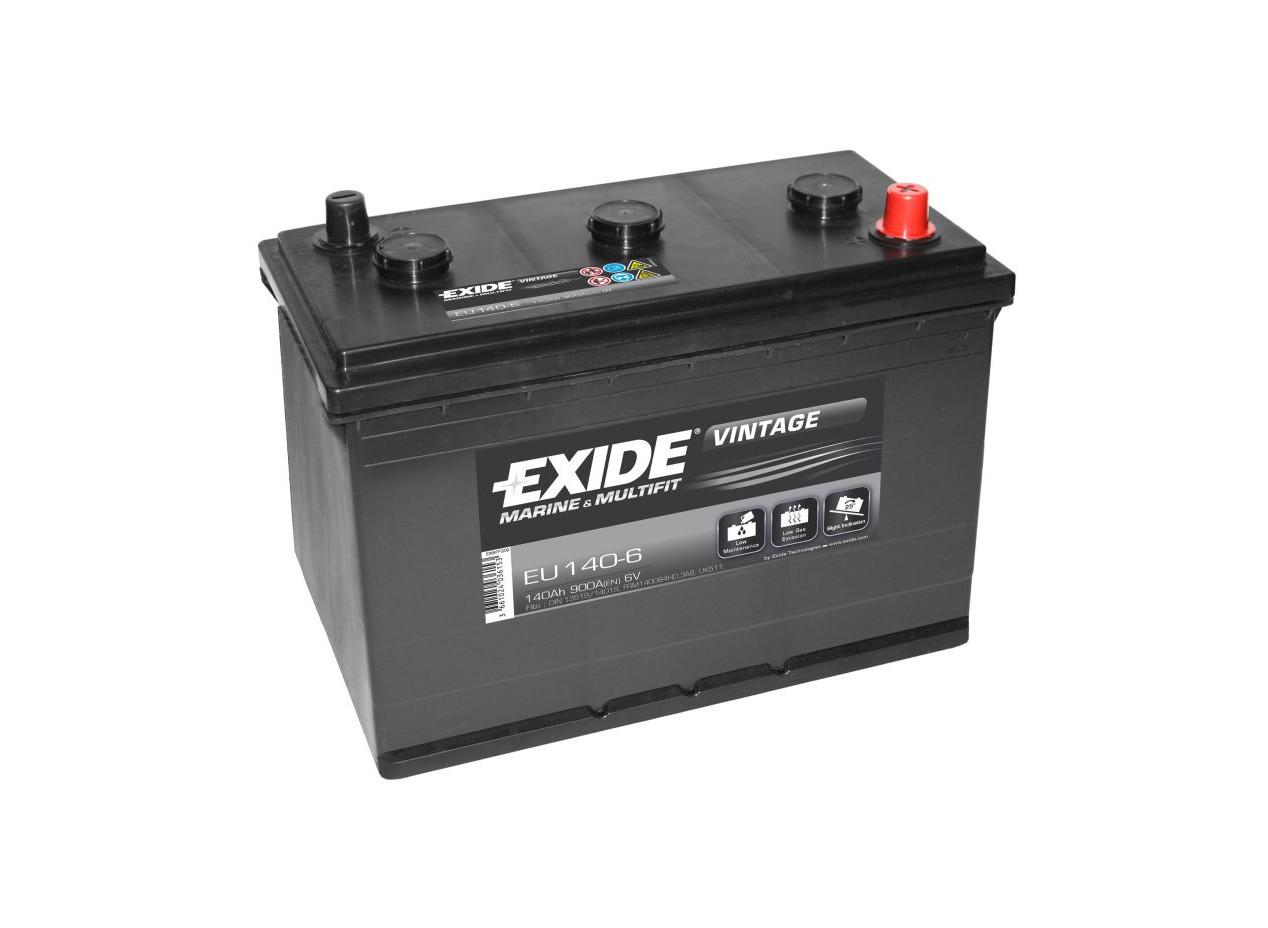 Aperçu du produit BATTERIE EXIDE VINTAGE 6V 140Ah 900A(EN) M04