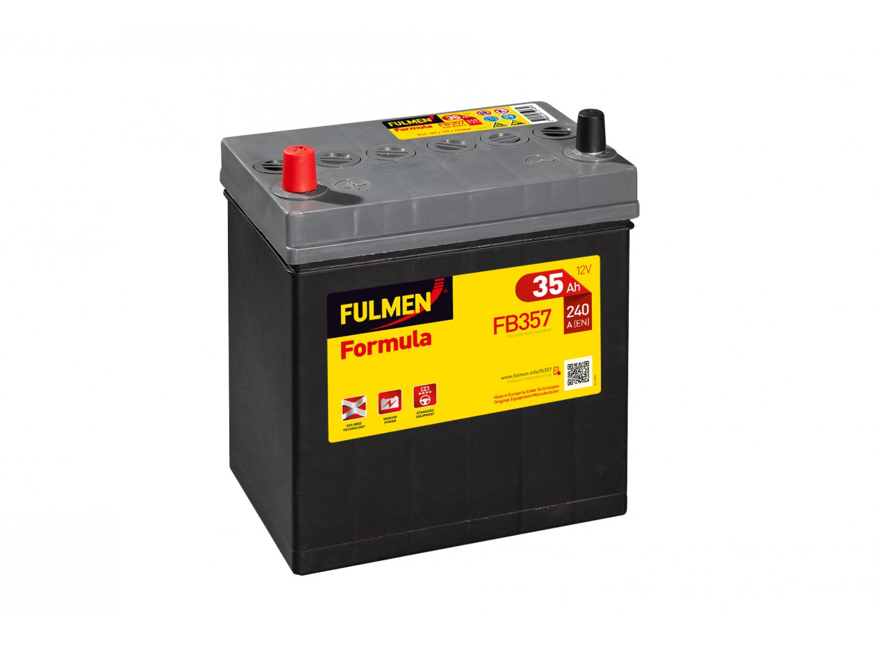 Aperçu du produit BATTERIE FULMEN FORMULA FB357 12V 35AH 240A