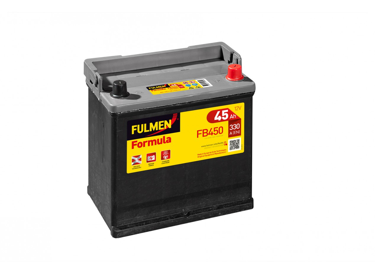Aperçu du produit BATTERIE FULMEN FORMULA FB450 12V 45AH 330A
