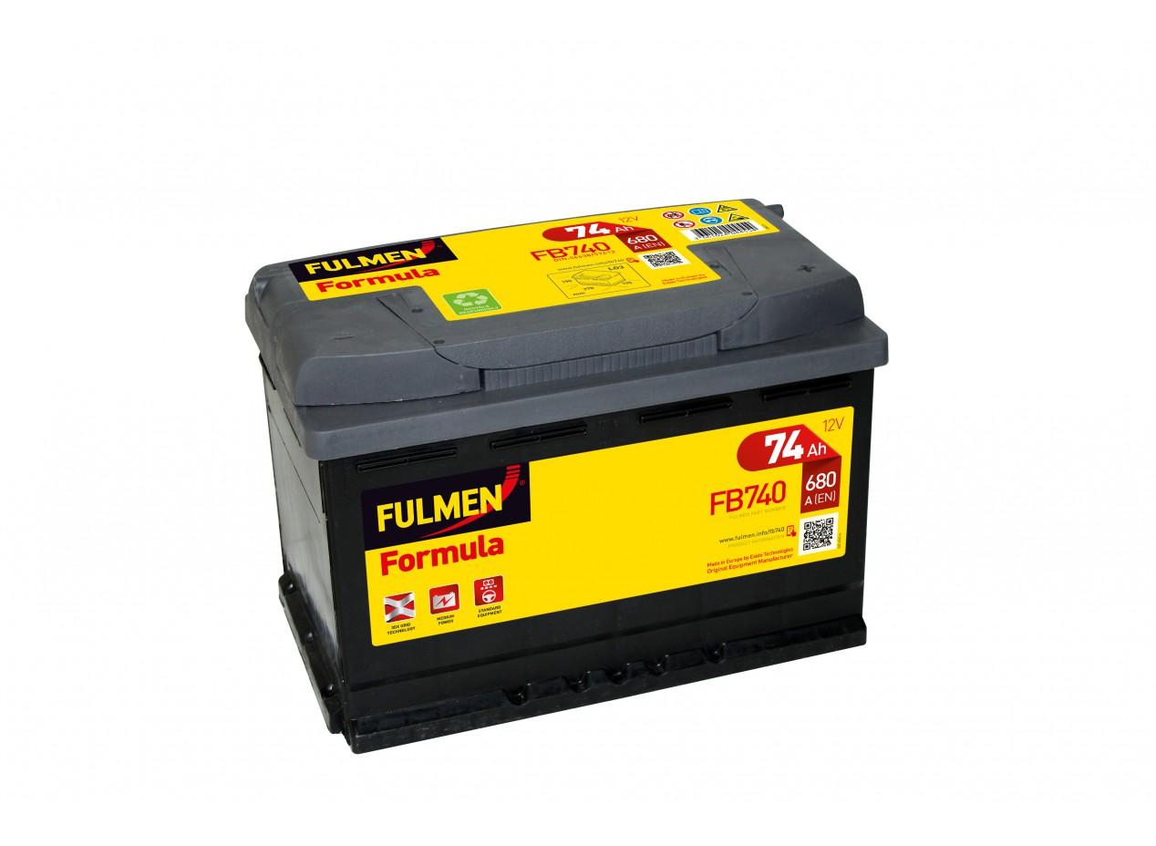 Aperçu du produit BATTERIE FULMEN FORMULA FB740 12V 74AH 680A
