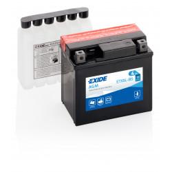 Aperçu du produit BATTERIE EXIDE AGM  ETX5L-BS/ YTX5L-BS