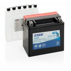 Aperçu du produit BATTERIE EXIDE AGM ETX14-BS/YTX14-BS