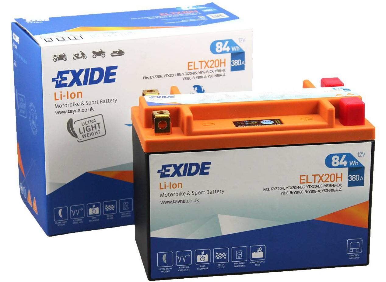 Aperçu du produit BATTERIE EXIDE LI-ION  ELTX20H