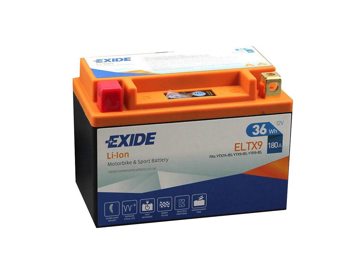 Aperçu du produit BATTERIE EXIDE LI-ION  ELTX9