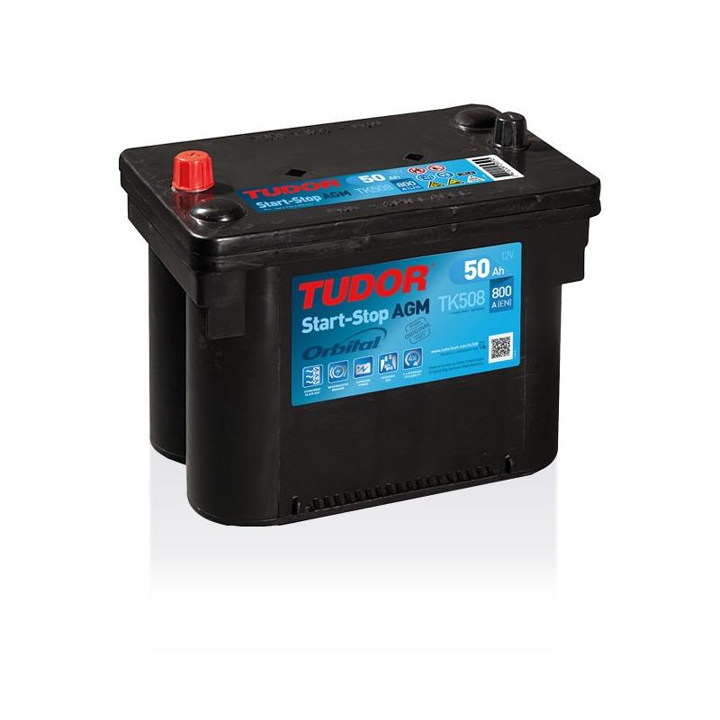 Autobatterie 12V 50AH AGM Exide Start-Stop