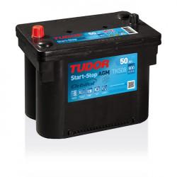 Aperçu du produit Batterie Start-stop AGM TUDOR TK508 12V 50Ah 800A