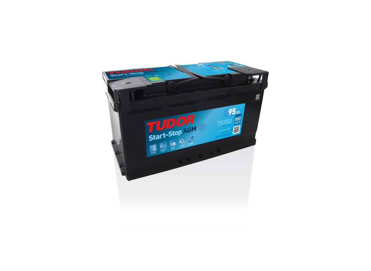 Batterie Start stop AGM TUDOR TK950 12V 95Ah 850A