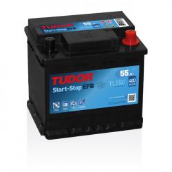Aperçu du produit Batterie Start-stop EFB TUDOR TL550 12V 55Ah 480A