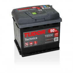 Aperçu du produit Batterie TECHNICA TUDOR TB500 12V 50Ah 450A