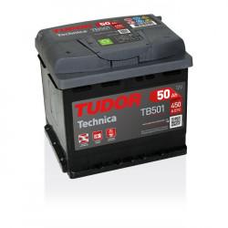Aperçu du produit Batterie TECHNICA TUDOR TB501 12V 50Ah 450A