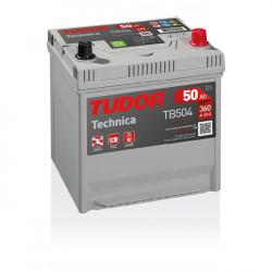 Aperçu du produit Batterie TECHNICA TUDOR TB504 12V 50Ah 360A