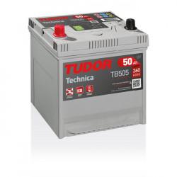 Aperçu du produit Batterie TECHNICA TUDOR TB505 12V 50Ah 360A