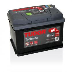 Aperçu du produit Batterie TECHNICA TUDOR TB602 12V 60Ah 540A