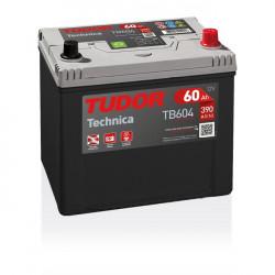 Aperçu du produit Batterie TECHNICA TUDOR TB604 12V 60Ah 390A