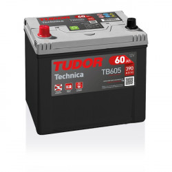 Aperçu du produit Batterie TECHNICA TUDOR TB605 12V 60Ah 390A