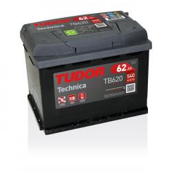 Aperçu du produit Batterie TECHNICA TUDOR TB620 12V 62Ah 540A
