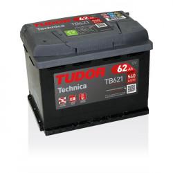 Aperçu du produit Batterie TECHNICA TUDOR TB621 12V 62Ah 540A