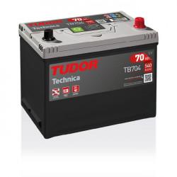 Aperçu du produit Batterie TECHNICA TUDOR TB704 12V 70Ah 540A