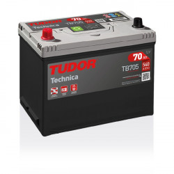 Aperçu du produit Batterie TECHNICA TUDOR TB705 12V 70Ah 540A