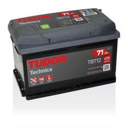 Aperçu du produit Batterie TECHNICA TUDOR TB712 12V 71Ah 670A
