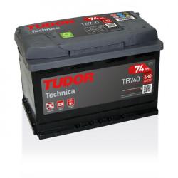 Aperçu du produit Batterie TECHNICA TUDOR TB740 12V 74Ah 680A