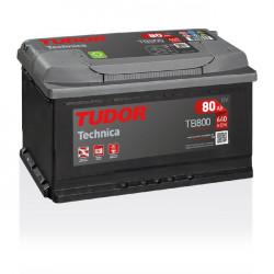 Aperçu du produit Batterie TECHNICA TUDOR TB800 12V 80Ah 640A