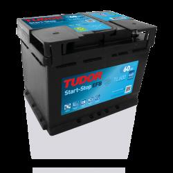 Aperçu du produit Batterie Start-stop EFB TUDOR TL600 12V 60Ah 540A