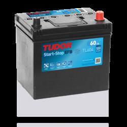 Aperçu du produit Batterie Start-stop EFB TUDOR TL604 12V 60Ah 520A