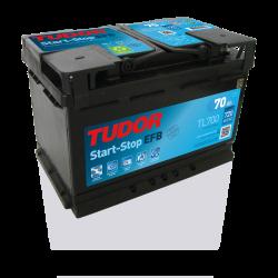 Aperçu du produit Batterie Start-stop EFB TUDOR TL700 12V 70Ah 630A