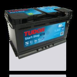 Aperçu du produit Batterie Start-stop EFB TUDOR TL800 12V 79Ah 720A