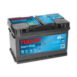 Aperçu du produit Batterie Start-stop EFB TUDOR TL652 12V 65Ah 650A