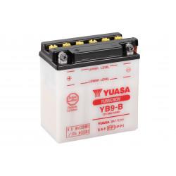 Aperçu du produit BATTERIE MOTO YUASA YB9-B 12V 9AH 115A