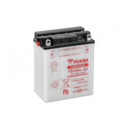Aperçu du produit BATTERIE MOTO YUASA YB12AL-A2 12V 12AH 150A