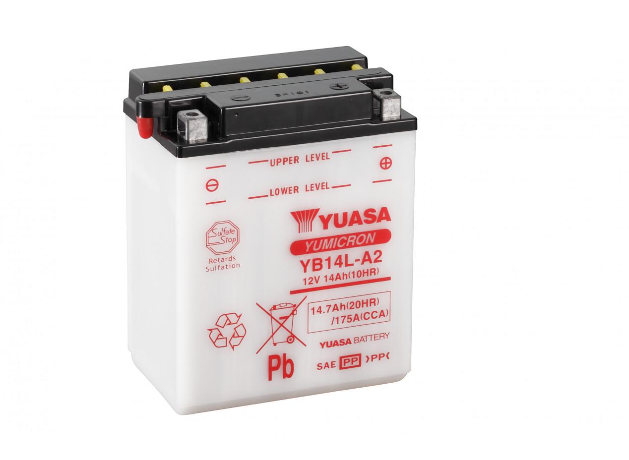 Aperçu du produit BATTERIE MOTO YUASA YB14L-A2