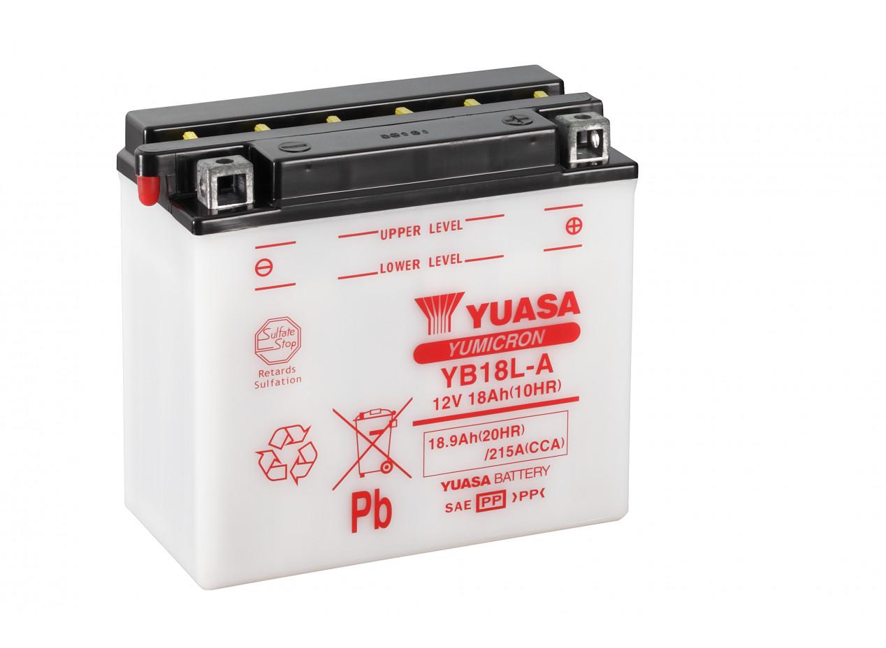 Aperçu du produit BATTERIE MOTO YUASA YB18L-A 12V 18AH 215A