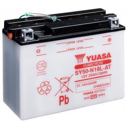 Aperçu du produit BATTERIE MOTO YUASA SY50-N18L-AT 12V 20AH 240A