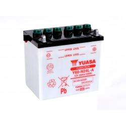 Aperçu du produit BATTERIE MOTO YUASA Y60-N24L-A 12V 28AH 241A