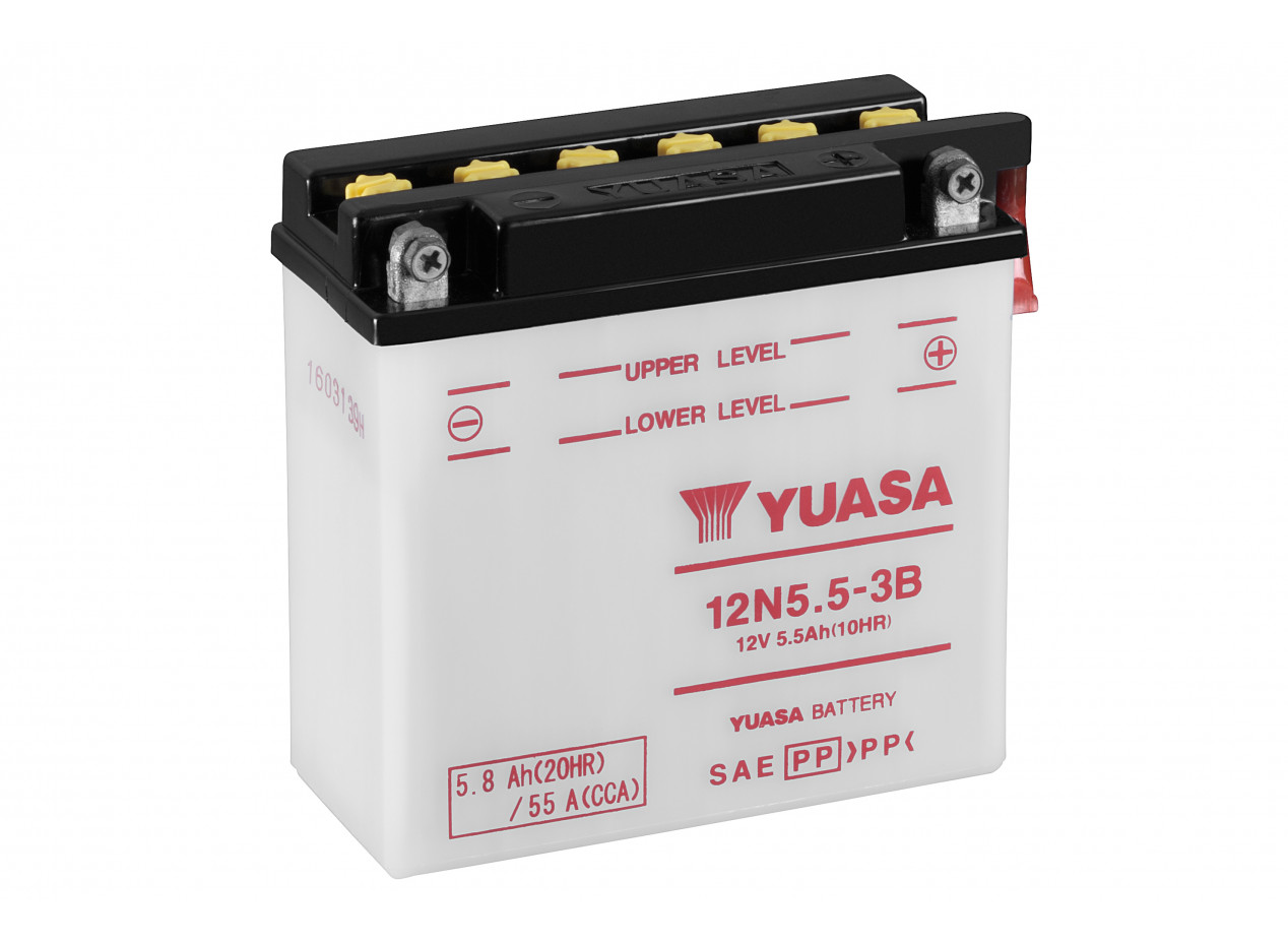 Batterie Moto Yuasa 12n5 5 3b Batteries Moto Batteryset
