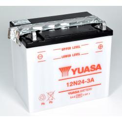 Aperçu du produit BATTERIE MOTO YUASA 12N24-3A 12V 24AH 200A