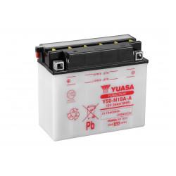 Aperçu du produit BATTERIE MOTO YUASA Y50-N18A-A 12V 20AH 240A