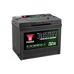 Batterie Yuasa Leisure L26-80 12V 80Ah 540A